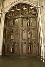 Exterior Doors Nyc Front Door Of St S Cathedral New York Photo Album Topix