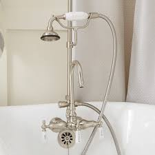 Convert Bathtub Faucet To Shower Gooseneck Clawfoot Tub Shower Conversion Kit D Style Shower Ring
