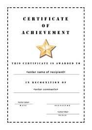 certificates of achievement templates education world certificate
