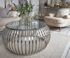 silver drum coffee table silver coffee table drum coffee tables