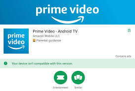 for android prime for android tv has launched on the play store