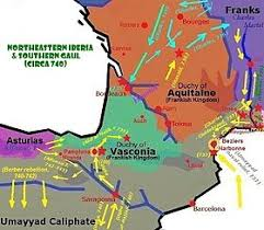 map of poitiers duchy of aquitaine