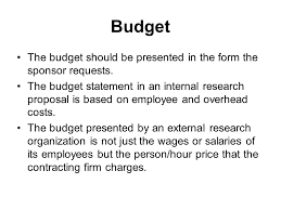 The Research Proposal  Purpose of the Research Proposal To present     SlidePlayer