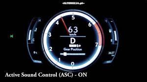 lexus is300h mods lexus rc200t active sound control asc youtube