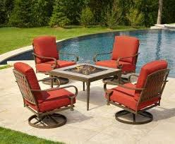 home depot fire table fire pit with chairs awesome sets outdoor lounge furniture the home