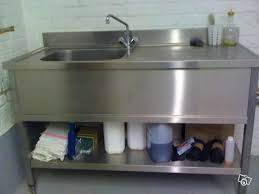 meuble de cuisine avec evier inox meuble evier inox beau collection meuble de cuisine avec evier inox