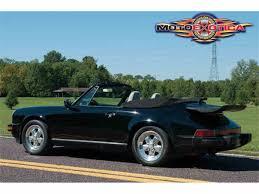 porsche 911 convertible 1988 porsche 911 carrera convertible for sale classiccars com