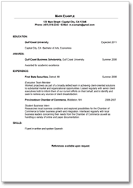 resume objectives for entry level positions sample resume