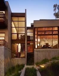 Industrial Modern House House On The Canyon Concrete Steel U0026 Wood Combined Together To