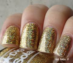 ida nails it digital nails much glitter so sparkle solor flake