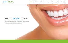 shine dental clinic html5 bootstrap web template webthemez