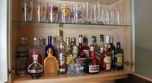 Pottery Barn Bar Cabinet Bar Awesome Liquor Cabinet Bar Home With Baxter An Organized