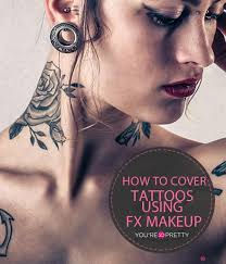 how to hide tattoos with cover fx makeup