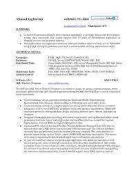 Ssis Developer Resume Sample by Ssis And Ssrs Resume Resume Templates