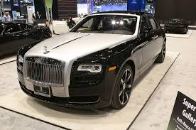 rolls royce sprinter the exotics and supercars you need to see at the chicago auto show