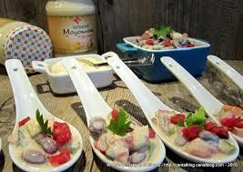 defi cuisine salade de haricots rouges pour un défi cuisine avec la mayonnaise