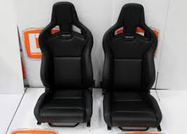 siege recaro part leather recaro pair of heated front seats fits land rover