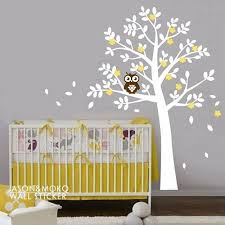 stickers arbre chambre enfant sticker chambre bb sticker grande jungle animaux pont vinyle
