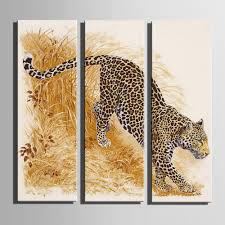 Home Decor Paintings For Sale Compare Prices On Leopard Oil Paintings Online Shopping Buy Low
