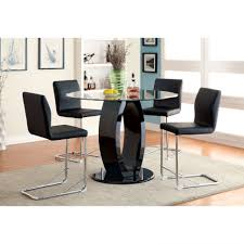 kitchen modern table and leather chairs home decor qonser