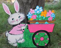 Easter Yard Decorations by Easter Yard Art Easter Yard Decor Easter Bunny Outdoor
