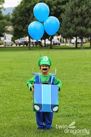 Yip Yip Halloween Costume Mario Luigi Kart Costumes Halloween Blog Hop Dragonfly