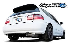 1995 honda civic hatchback greddy supreme sp exhaust 1992 1995 honda civic hatchback eg