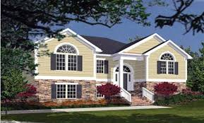 bi level floor plans with attached garage country style 7744 3 bedrooms and 2 5 baths the house designers