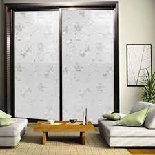 Door Decals For Home by 45 100cm Self Adhesive Flower Glass Window Decorative Film Bedroom