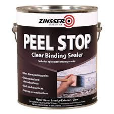 zinsser 1 gal peel stop water base clear interior exterior