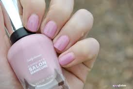 spring tips sally hansen complete salon manicure pastels on point