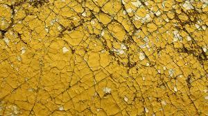 Wall Wallpaper Cracked Yellow Wall Wallpaper 3771