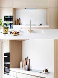 Kitchens With Light Wood Cabinets Light Wood And White Countertops Create A Neutral Softness In This
