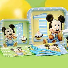 mickey mouse 1st birthday disney baby 1st birthday party supplies disney baby