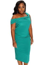 womens clothing dresses emerald draped front sleeveless plus size