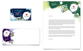 child advocates business card u0026 letterhead template word u0026 publisher