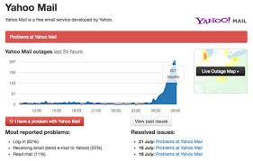 yahoo amazon black friday yahoo mail down email service not working as customers hit with