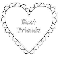 best friend coloring pages coloringsuite com