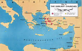 Asia Minor Map Introduction Restless Pilgrim