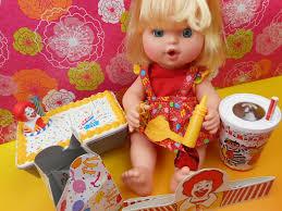 baby s birthday mcdonald s happy birthday baby doll play set review