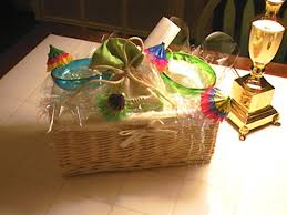 decorative gift basket hgtv