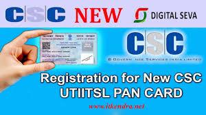 pan card uti new pan card application form apply online in digital seva csc