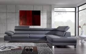canape angle cuir italien canapaangle design cuir blanc et gris inspirations avec canapé angle