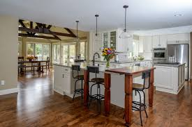 open floor plans easy access top list of remodeling trends