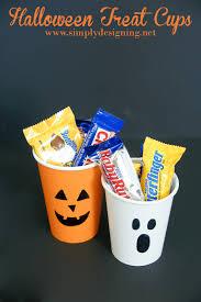 Halloween Cups Halloween Treat Cups
