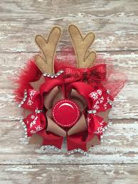 christmas hair bows black and christmas hair bows happy holidays