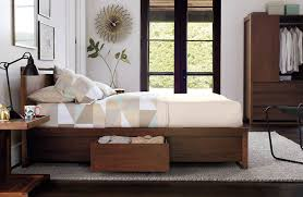 Bed Design With Storage by Matera Bed With Storage Design Within Reach