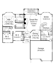 houseplans and more atrium ranch home plan 121d 0013 house plans and more