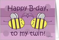 twin sister birthday cards from greeting card universe