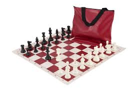 uscf sales standard chess set combination triple weighted